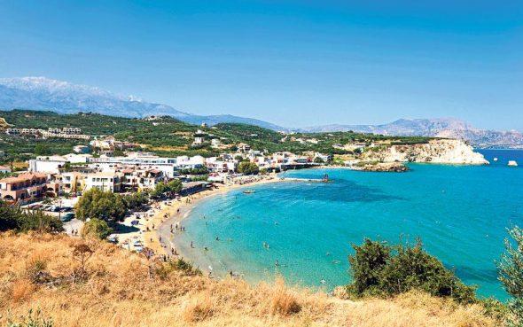 Calm and warm in Crete!