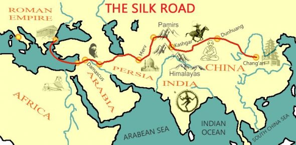 A journey along the silk route, but just the Chinese part!